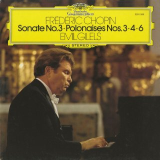 ショパン:ピアノ・ソナタ3番Op.58,ポロネーズ3番「軍隊」,4番,6番「英雄」