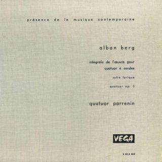 ベルク:抒情組曲,弦楽四重奏曲 Op.3