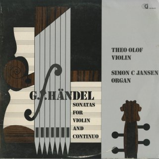 ヘンデル:ヴァイオリン・ソナタOp.1-3,1-10,1-12〜15