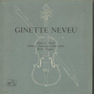 ショーソン:詩曲Op.25,ドビュッシー:ヴァイオリン・ソナタ,ラヴェル:ツィガーヌ