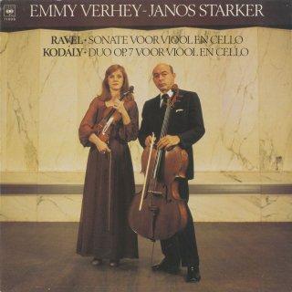ラヴェル:ヴァイオリンとチェロのためのソナタ,コダーイ:ヴァイオリンとチェロのための二重奏