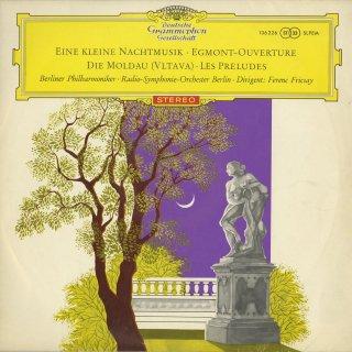 モーツァルト:アイネ・クライネ,ベートーヴェン:エグモント序曲,スメタナ:モルダウ,リスト:交響詩「前奏曲」