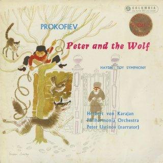 プロコフィエフ:ピーターと狼,ハイドン:おもちゃの交響曲