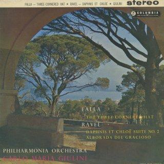 ファリャ:三角帽子,ラヴェル:ダフニスとクロエ第2組曲,道化師の朝の歌