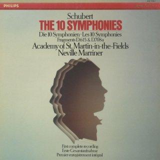 シューベルト:交響曲1〜10番,断章(2曲)