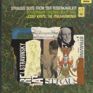 ストラヴィンスキー:「火の鳥」組曲,リヒャルト・シュトラウス:「薔薇の騎士」組曲