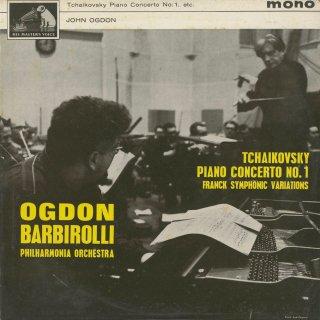 チャイコフスキー:ピアノ協奏曲1番Op.23,フランク:交響的変奏曲