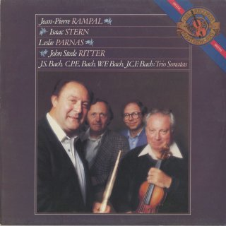トリオ・ソナタ集/バッハ(音楽の捧げ物BWV.1038),C.P.E.バッハ,J.C.F.バッハ,W.F.バッハ