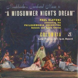 メンデルスゾーン:真夏の夜の夢〜8曲(序曲含む)