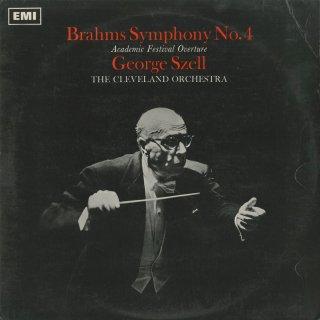 ブラームス:交響曲4番Op.98,大学祝典序曲Op.80