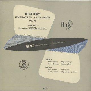 ブラームス:交響曲4番Op.98