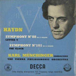 ハイドン:交響曲88,101番「時計」