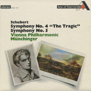 シューベルト:交響曲4番「悲劇的」,5番