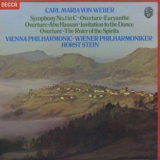ウェーバー:交響曲1番,「アブハッサン」序曲,「オイリアンテ」序曲,「幽霊の支配者」序曲