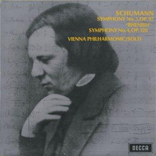 シューマン:交響曲3番Op.97,4番Op.120「ライン」
