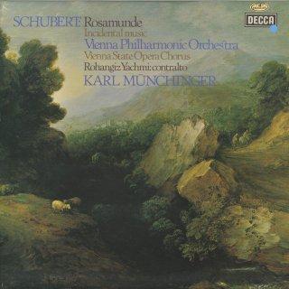 シューベルト:「キプロスの女王ロザムンデ」Op.26(10曲),「魔法の竪琴」序曲