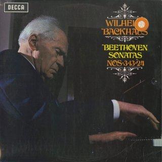 ベートーヴェン:ピアノ・ソナタ13番Op.27−1,24番Op.78,3番Op.2−3
