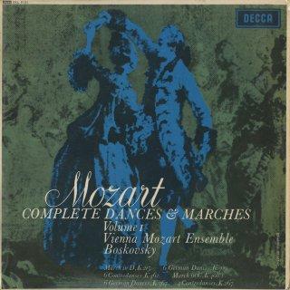 「モーツァルト:舞曲・行進曲全集Vol.1」6つのドイツ舞曲K.509,K.567,6つのコントルダンスK.462,4つのコントルダンスK.267,行進曲K.215,他