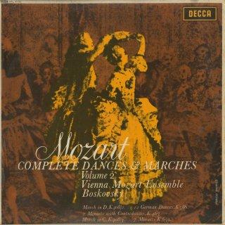 「モーツァルト:舞曲・行進曲全集Vol.2」行進曲K.408−2・3,ドイツ舞曲K.586,コントルダンスK.463,メニエットK.65a