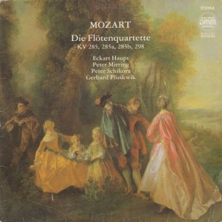 モーツァルト:フルート四重奏曲(全4曲)