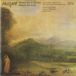 モーツァルト:ミサ・ロンガK.262,ミサ・ブレヴィスK.258