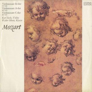 モーツァルト:ヴァイオリン・ソナタK.380,402,403