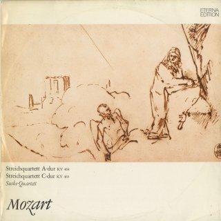 モーツァルト:弦楽四重奏曲18番K.464,19番K.465