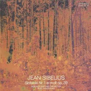 シベリウス:交響曲1番Op.39