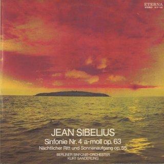 シベリウス:交響曲4番Op.63,夜の騎行と日の出Op.55