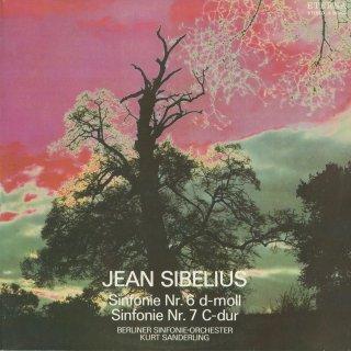 シベリウス:交響曲6番Op.104,7番Op.105