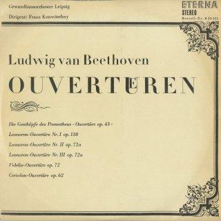ベートーヴェン:序曲集/プロメテウス,レオノーレ1〜3番,フィデリオ,コリオラン