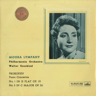 プロコフィエフ:ピアノ協奏曲1番Op.10,3番Op.26