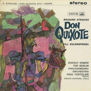 リヒャルト・シュトラウスト:交響詩「ドン・キホーテ」,「ティル・オイレンシュピーゲルの愉快ないたずら」