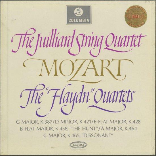 モーツァルト:弦楽四重奏曲14~...