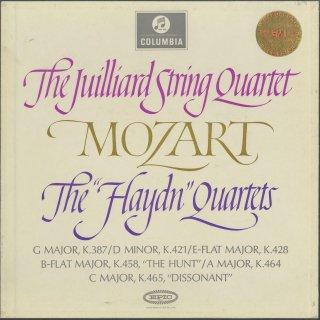 モーツァルト:弦楽四重奏曲14〜19番「ハイドンセット」
