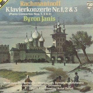 ラフマニノフ:ピアノ協奏曲1番Op.1,2番Op.18,3番Op.30