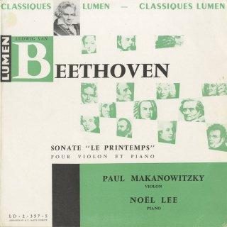 ベートーヴェン:ヴァイオリン・ソナタ5番Op.24「春」