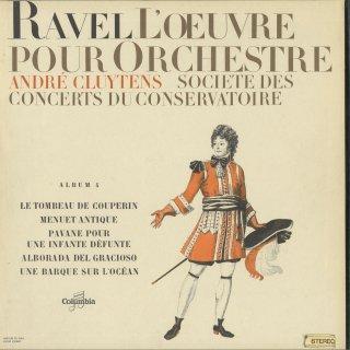 「ラヴェル:管弦楽曲集Vol.4」クープランの墓,古風なメヌエット,道化師の朝の歌,パヴァーヌ,洋上の小舟