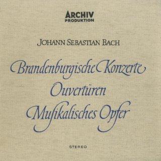 バッハ:ブランデンブルク協奏曲,管弦楽組曲,音楽の捧げ物 BWV.1079