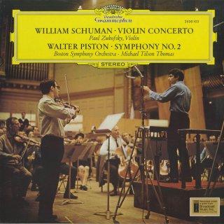 ウィリアム・シューマン:ヴァイオリン協奏曲,ピストン:交響曲2番