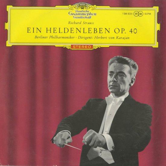 リヒャルト・シュトラウス:英雄の生涯Op.40 - クラシックLP ...