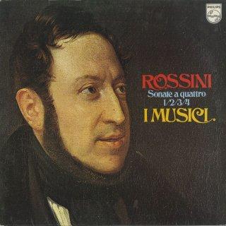 ロッシーニ:四重奏のソナタ1〜4番