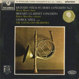 モーツァルト:クラリネット協奏曲K.622,リヒャルト・シュトラウス:ホルン協奏曲Op.11