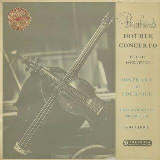 ブラームス:二重協奏曲Op.102,悲劇的序曲Op.81
