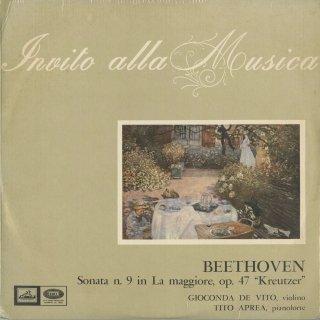 ベートーヴェン:ヴァイオリン・ソナタOp.47「クロイツェル」