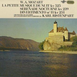 モーツァルト:アイネ・クライネK.525,セレナーデ6番K.239「セレナータ・ノットゥルナ」,ディヴェルティメント11番K.251