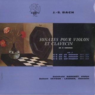 バッハ:ヴァイオリン・ソナタ集Vol.2/BWV.1017〜1019