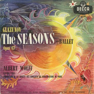 グラズノフ:バレエ音楽「四季」Op.67