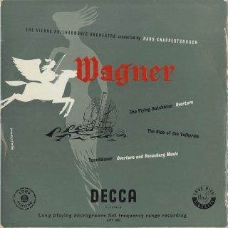 ワーグナー:オランダ人〜序曲,タンホイザー〜序曲,ヴェーヌスベルクの音楽,ワルキューレの騎行