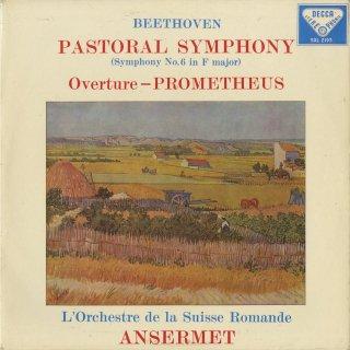 ベートーヴェン:交響曲6番Op.68「田園」,序曲「プロメテウス」Op.43